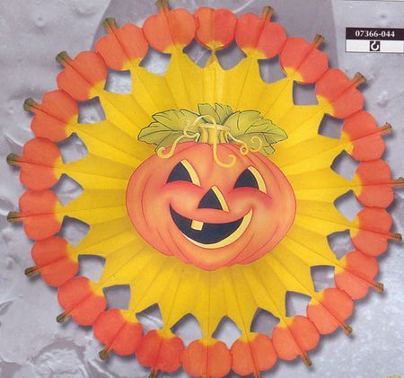 Rosace Halloween Citrouille