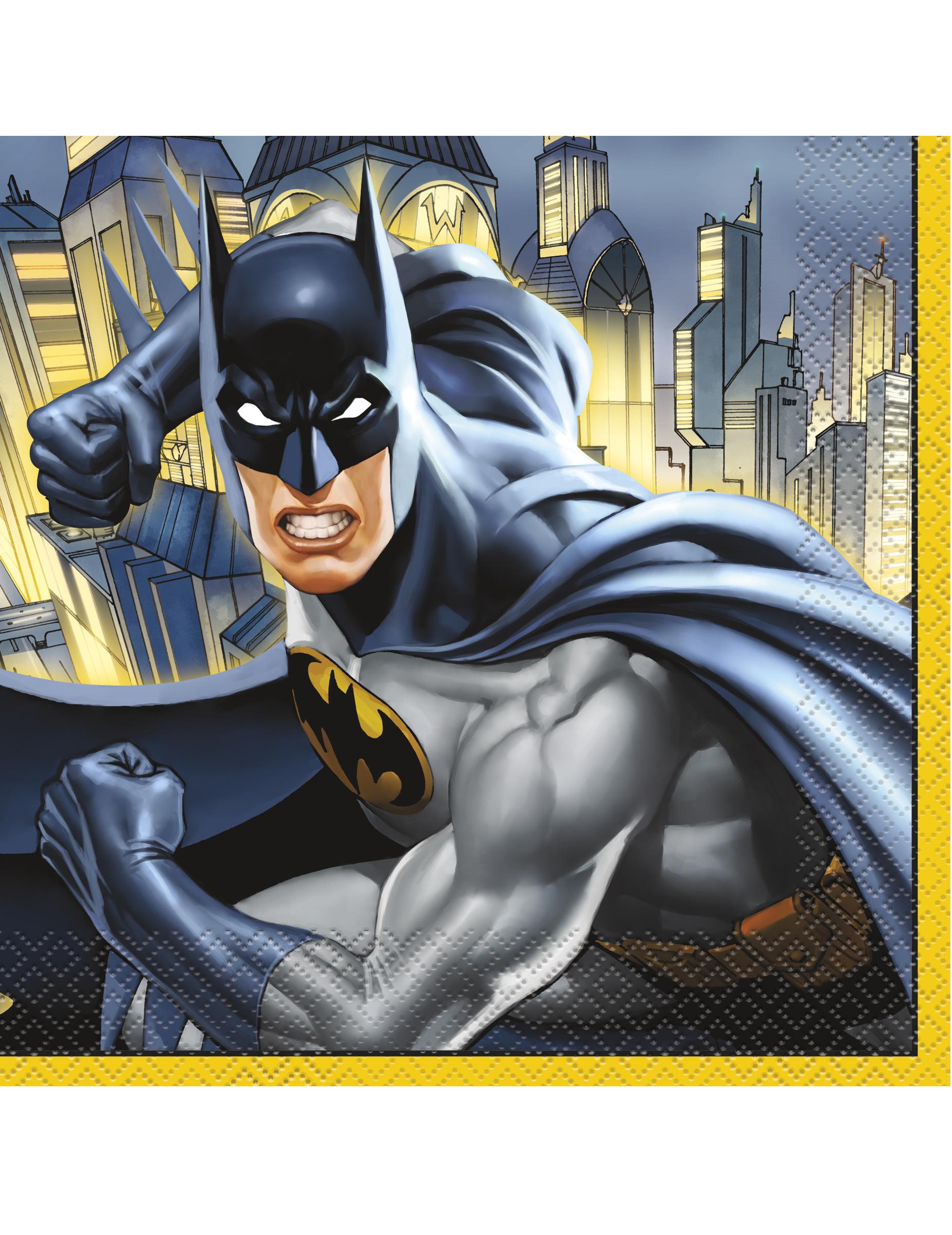 20 Serviettes 33 Cm x 33 Cm-Batman