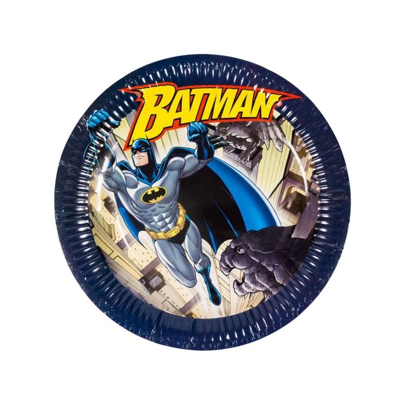 6 Assiettes (23Cm) -Batman™