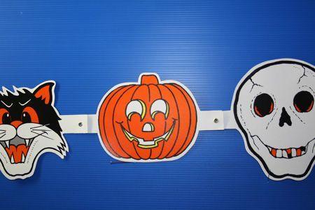 Guirlande Halloween Carton 1M50