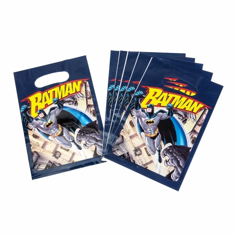 8 Sachets Cadeaux (16 X 23 Cm)-Batman