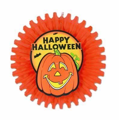 Rosace Happy Halloween Orange