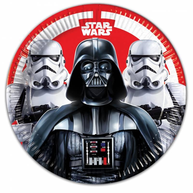 8 Assiettes Star Wars
