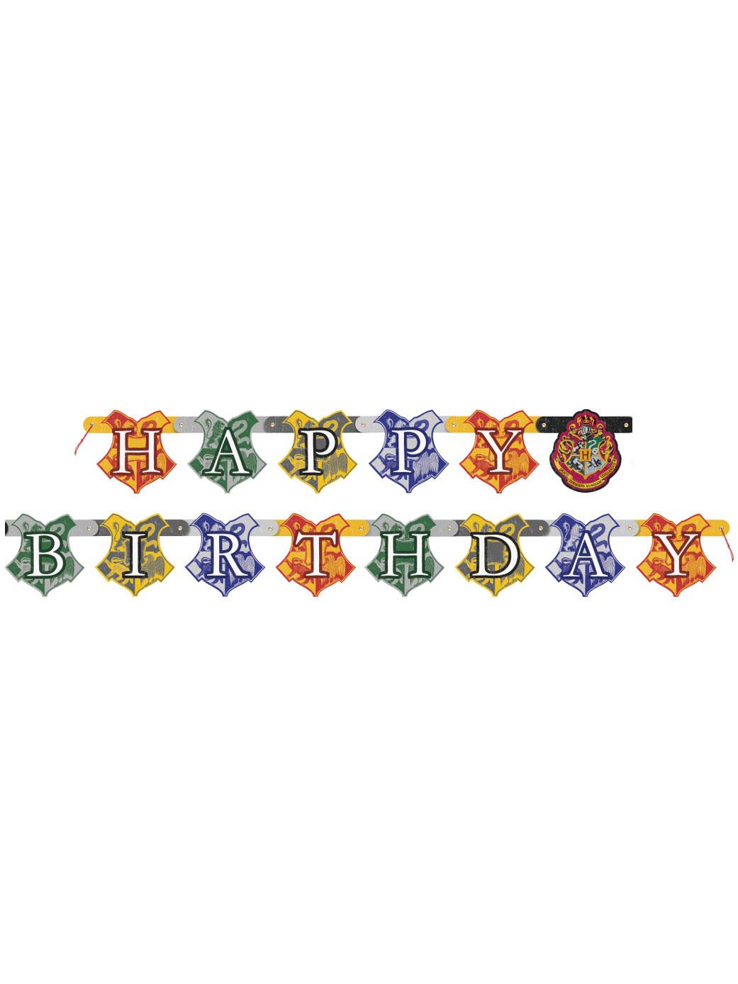 Guirlande anniversaire Harry Potter
