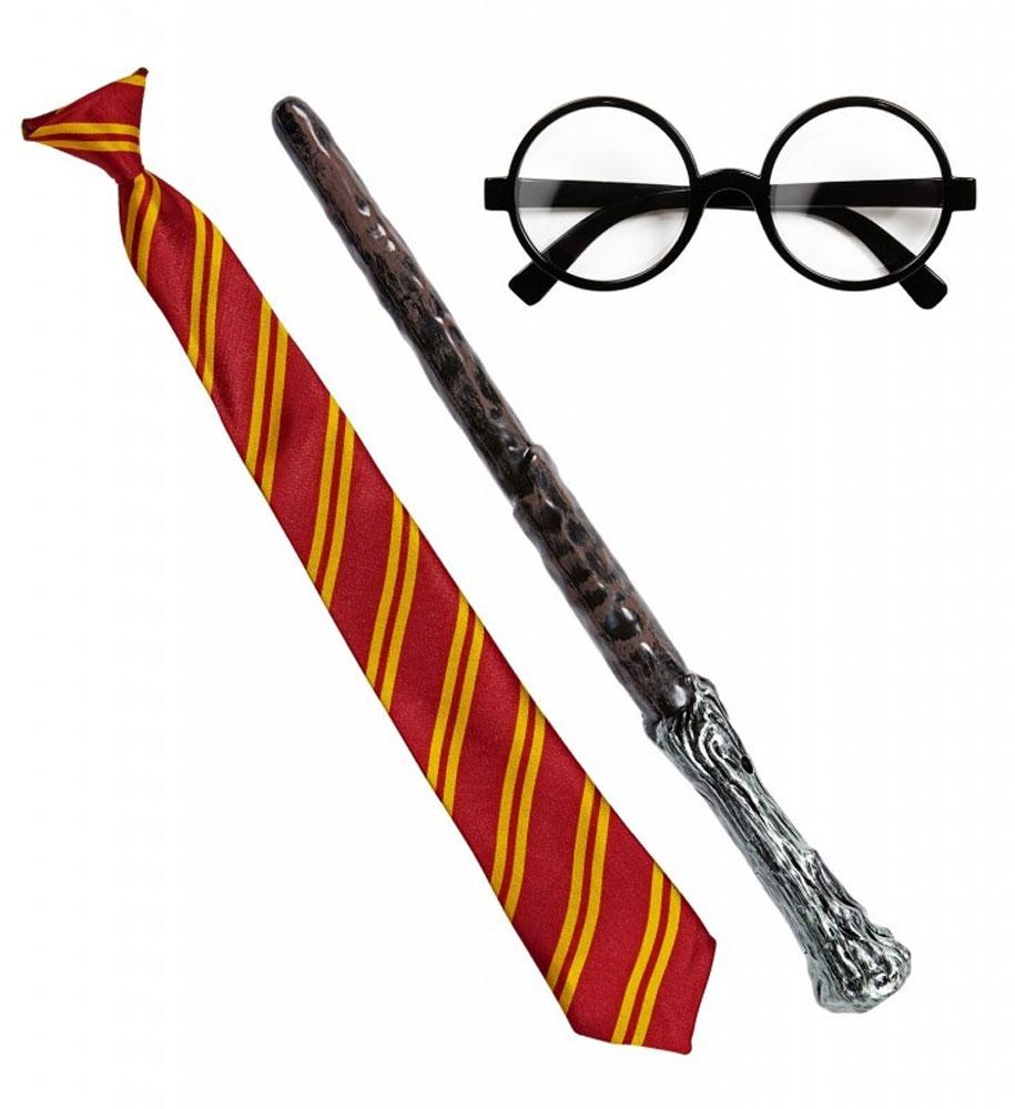Set 3 pièces sorcier Harry potter
