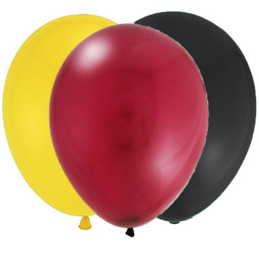 Bouquet de 12 ballons latex thème Harry Potter