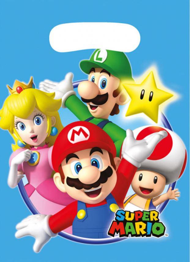8 Sac de fête Super Mario