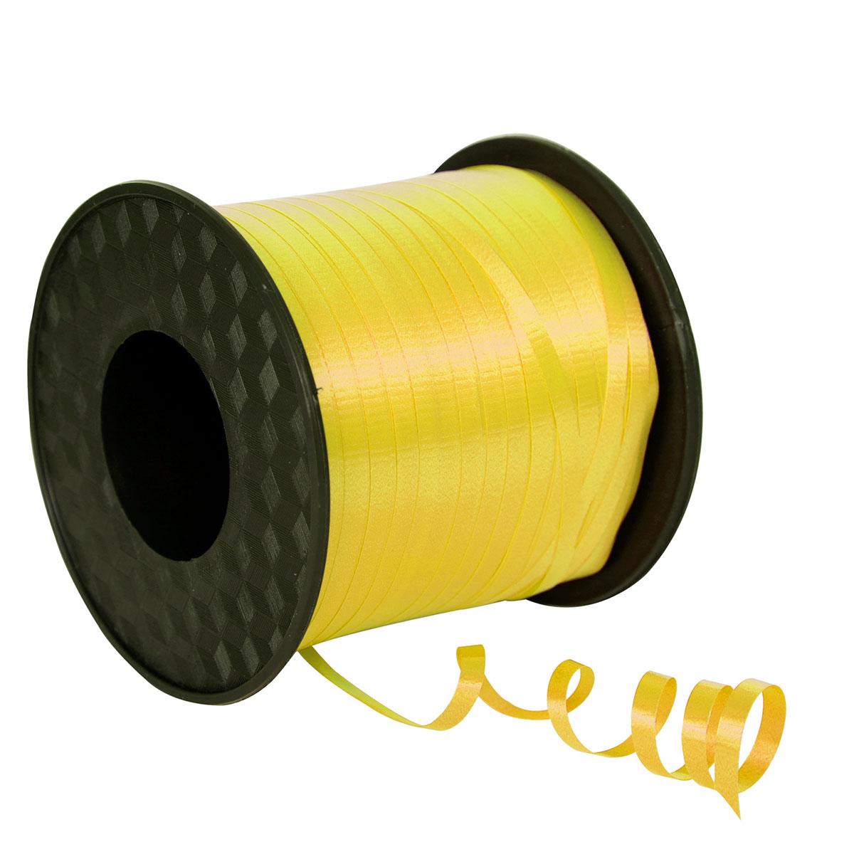 Ruban bolduc jaune or 500 m