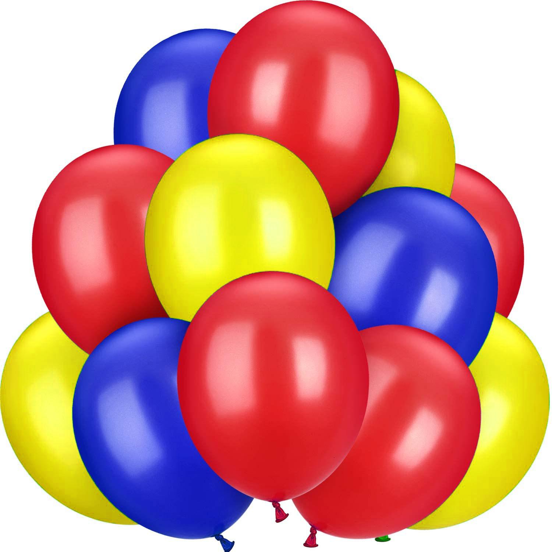 12 ballons latex thème Pat patrouille