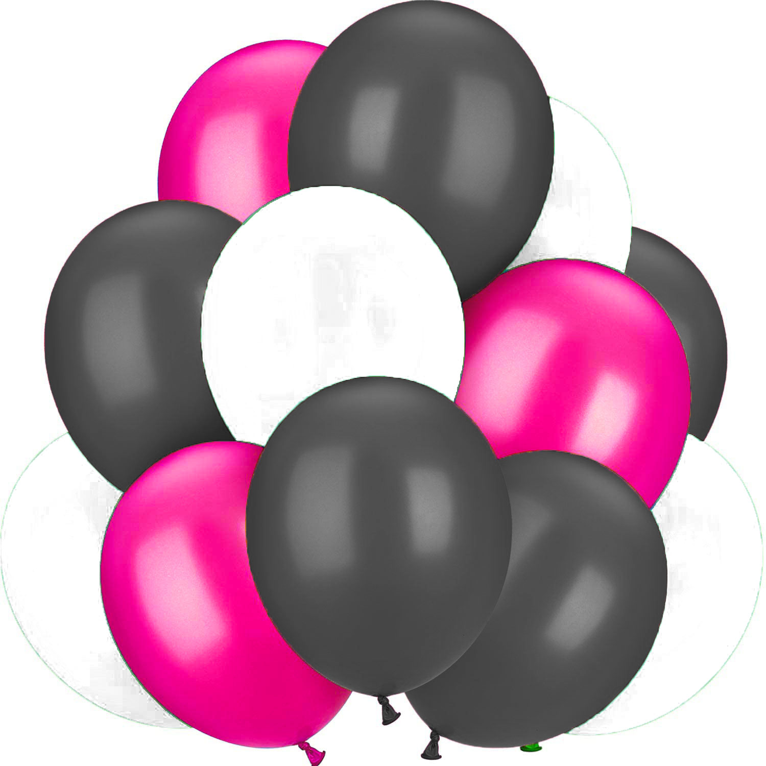 Bouquet 12 ballons latex Minnie rose