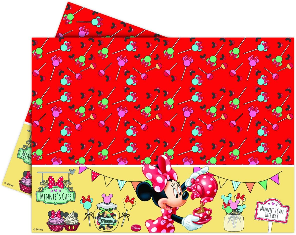 Nappe Minnie rouge