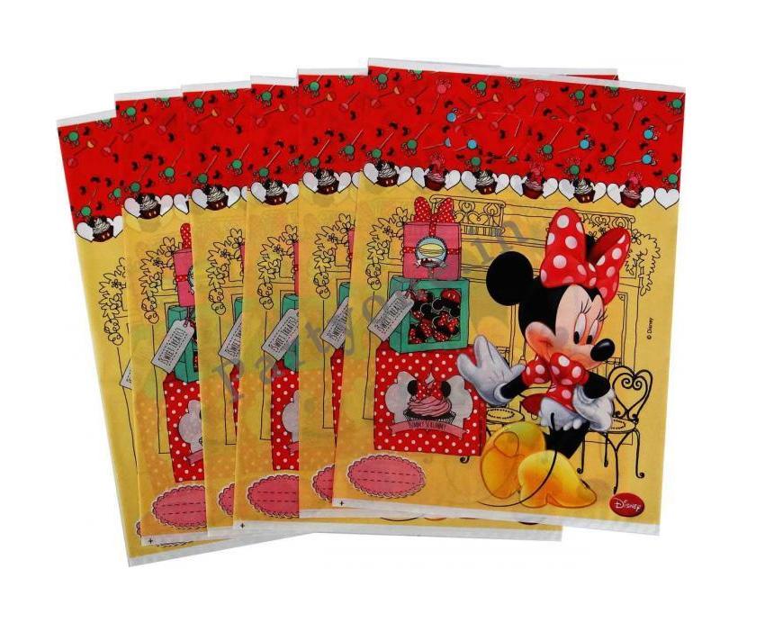 6 sachets cadeaux Minnie rouge