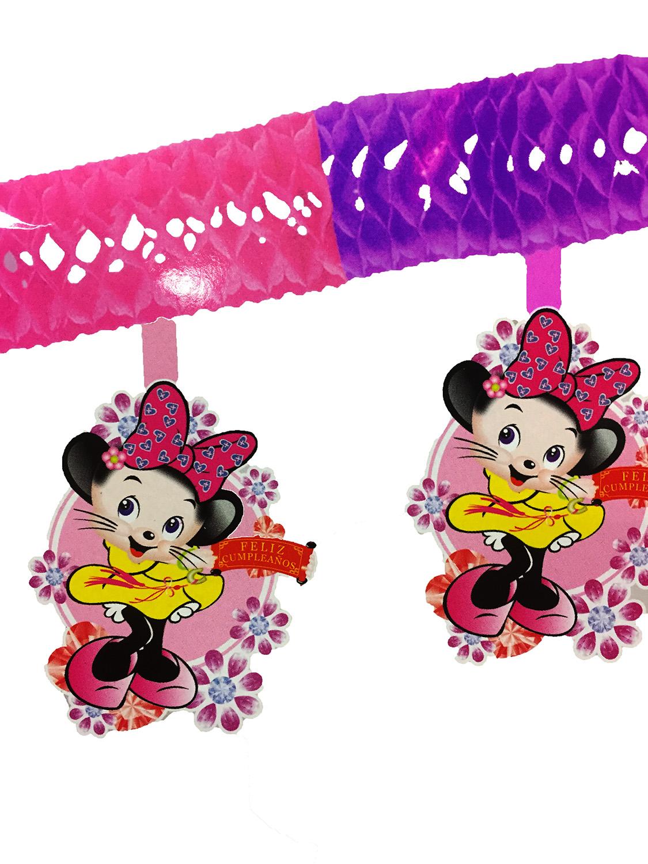 Guirlande papier petite souris Minnie