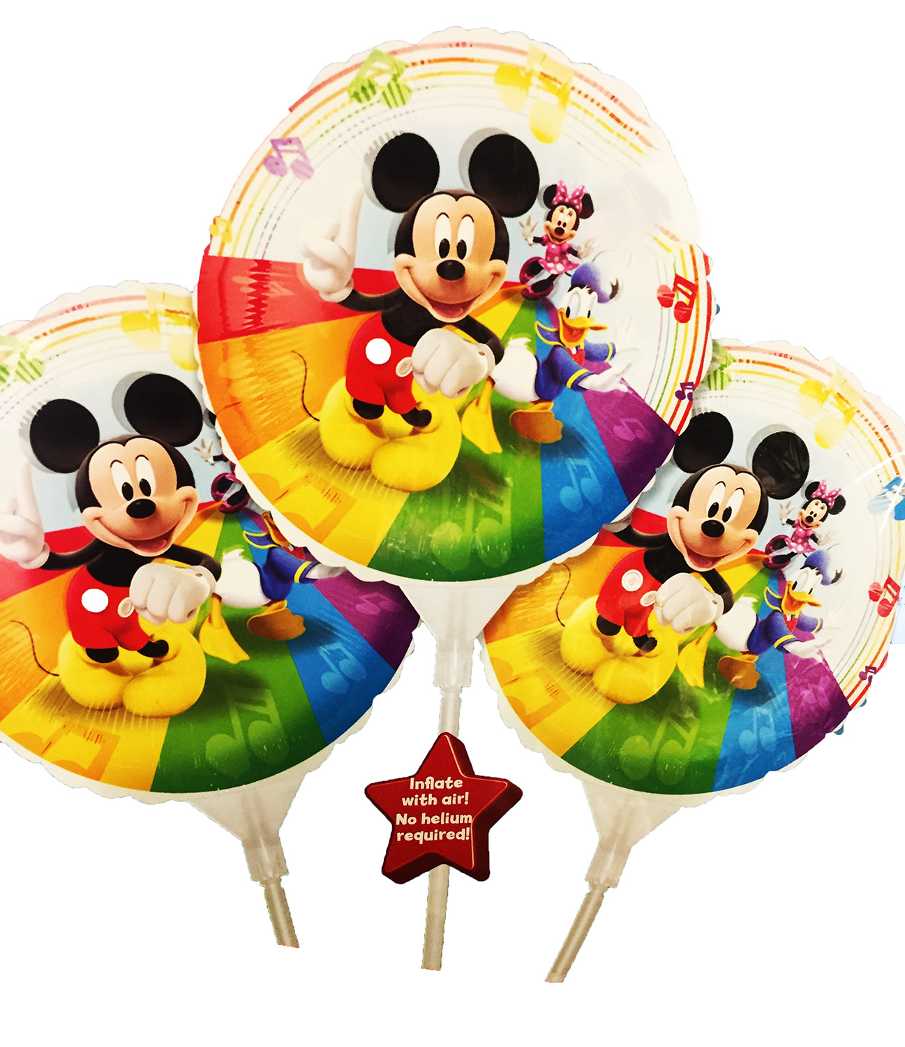 3 mini ballon mIckey