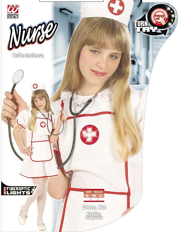 Déguisement infirmière avec leds