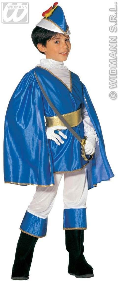 Déguisement prince bleu enfant