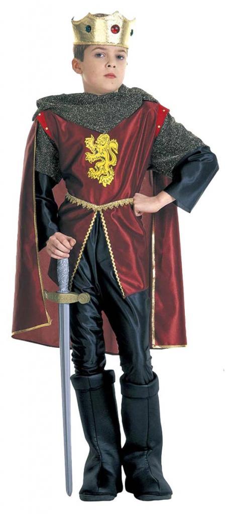 Déguisement roi Richard coeur de lion enfant