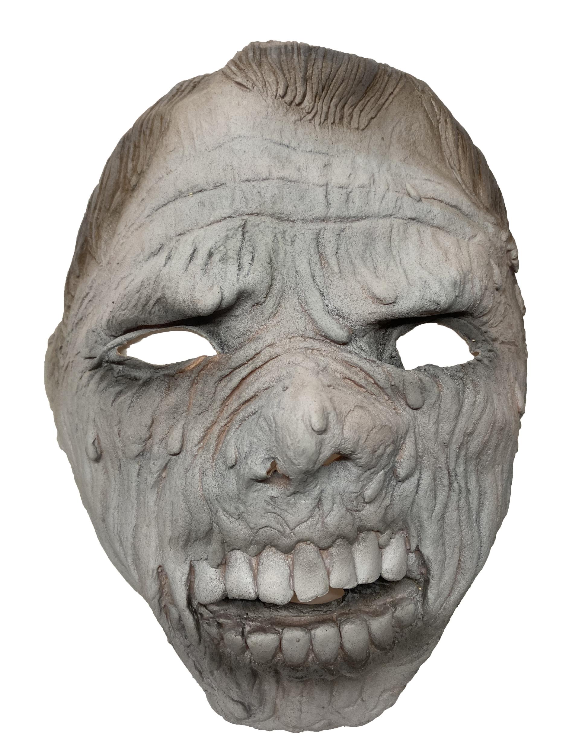 Masque latex halloween zombie