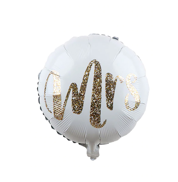 ballon mylar MRS