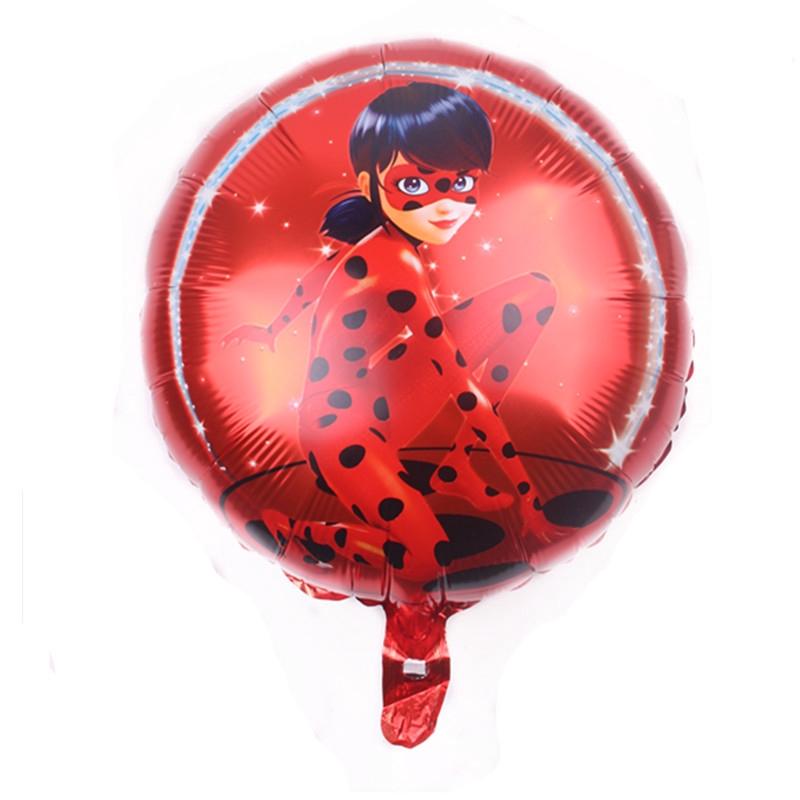 Ballon aluminium Ladybug