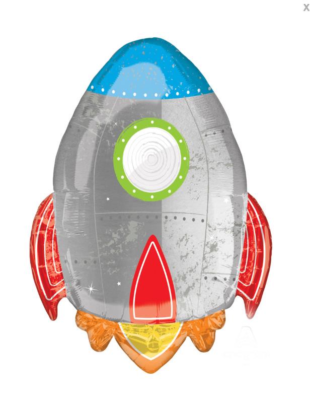 Ballon aluminium fusée
