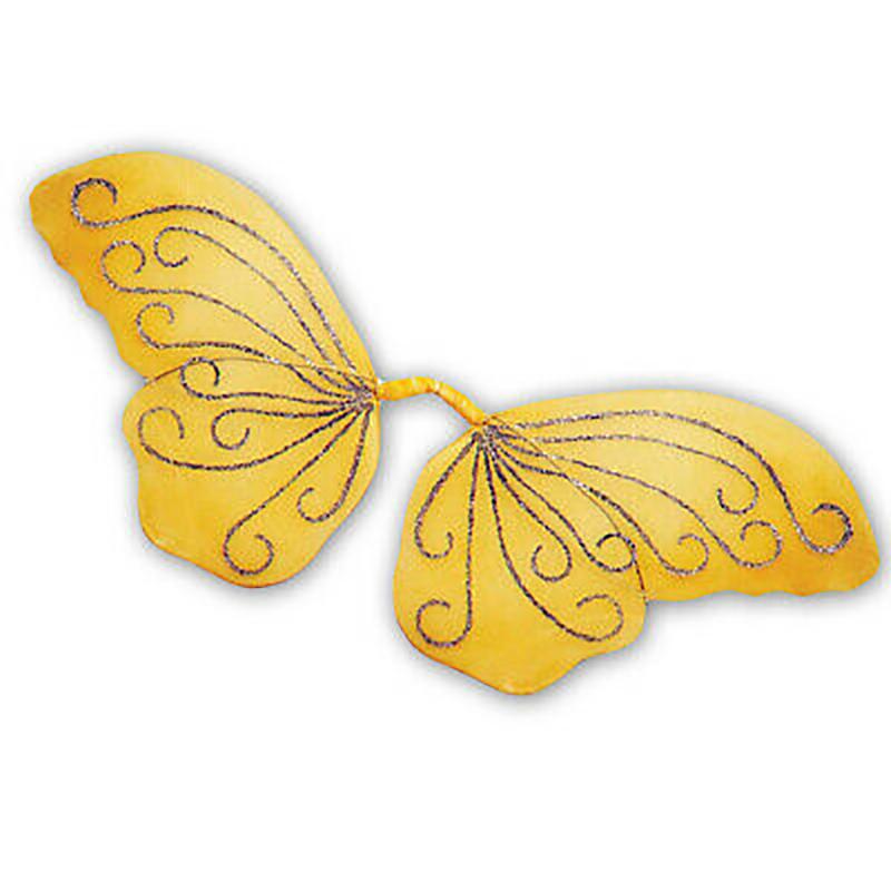 Ailes de papillons jaunes