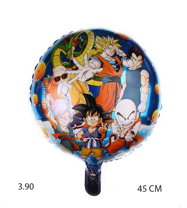 Ballon mylar dragon ball z