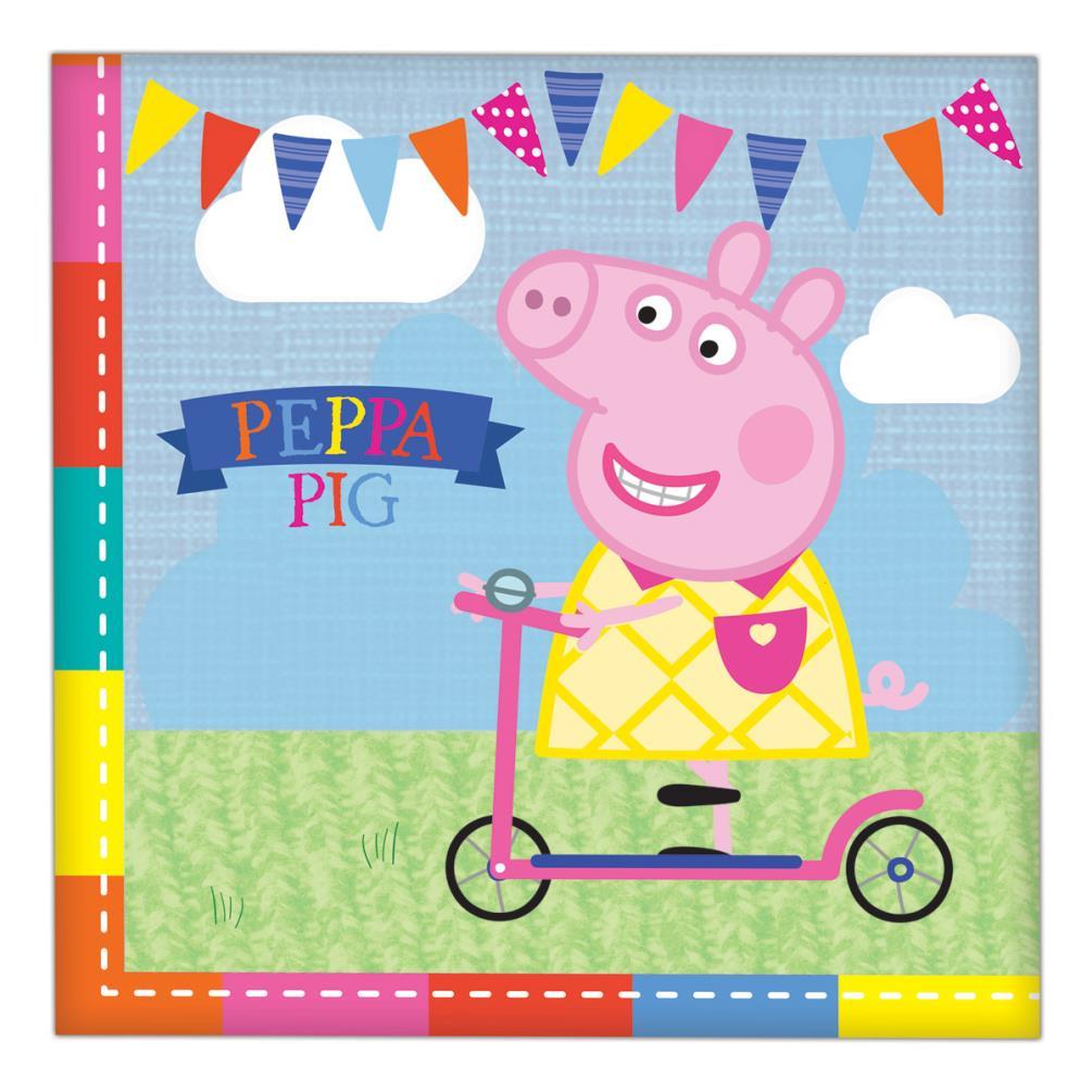16 serviettes Peppa Pig