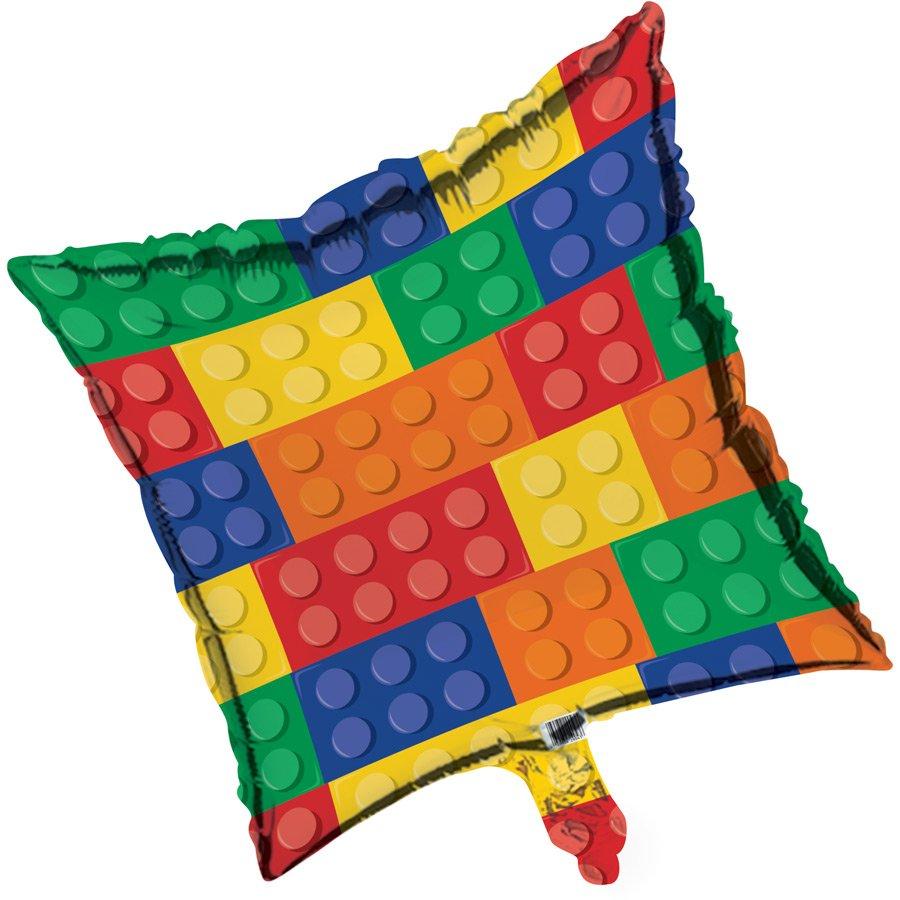Ballon mylar lego block party