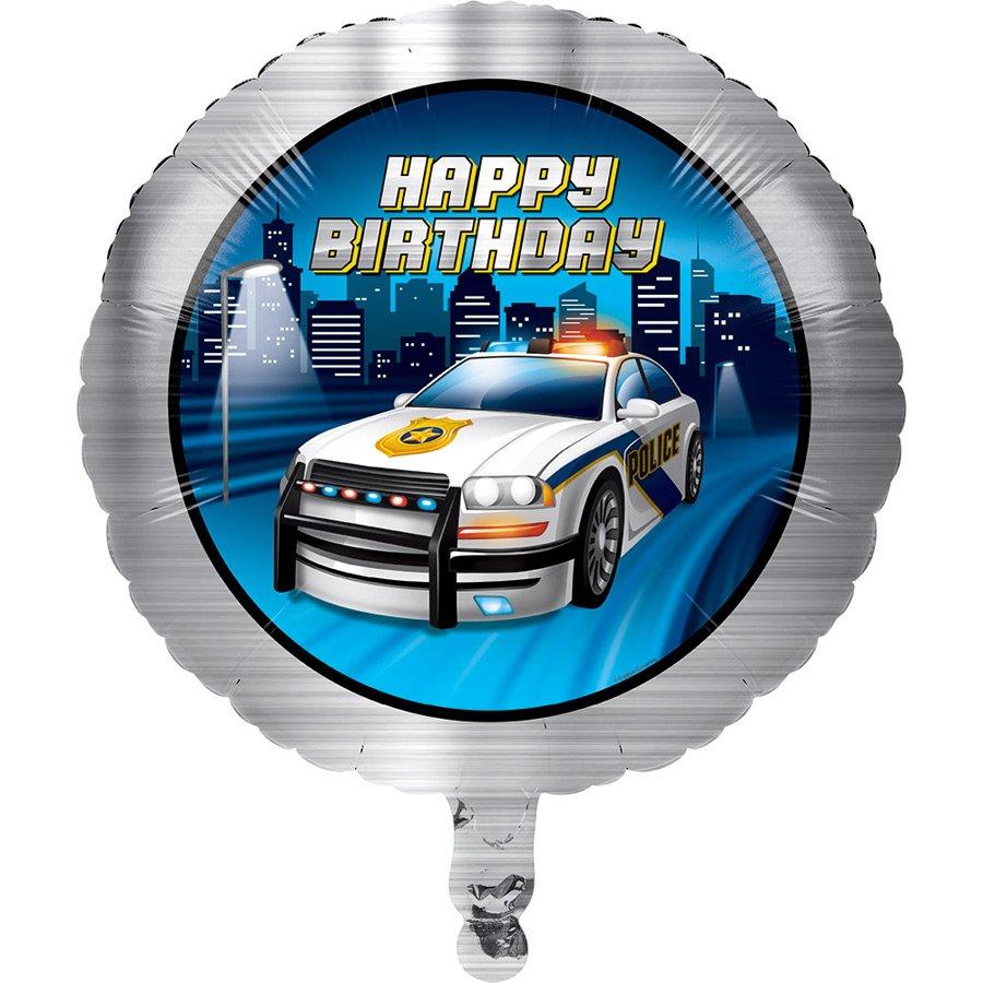 Ballon mylar police