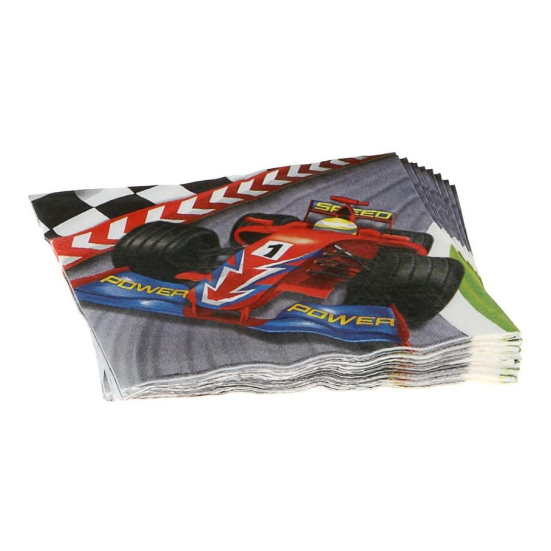 12 serviettes formule 1