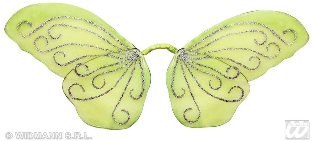 Ailes de papillons vertes