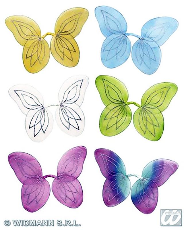 Ailes de papillons mousseline