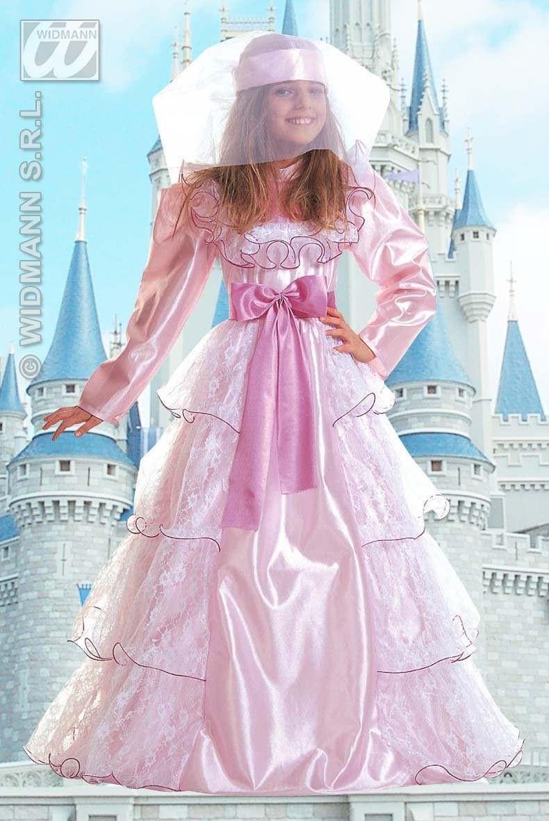 Déguisement princesse rose grand gala