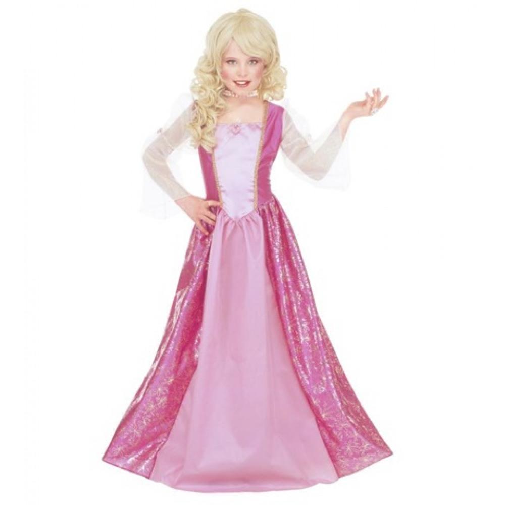 Déguisement princesse rose Barbara