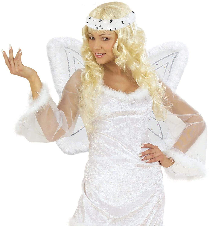 Ailes d\'ange en mousseline avec auréole