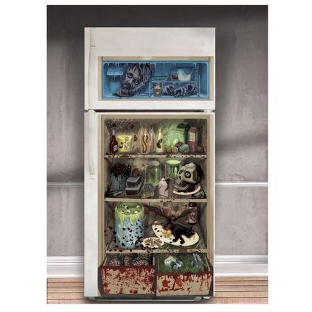 Décor Halloween Pour Porte de Réfrigérateur
