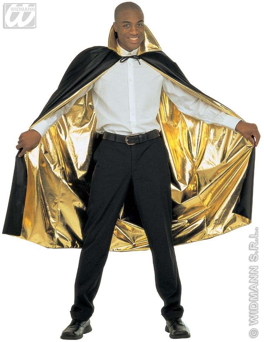 Cape réversible or et noire