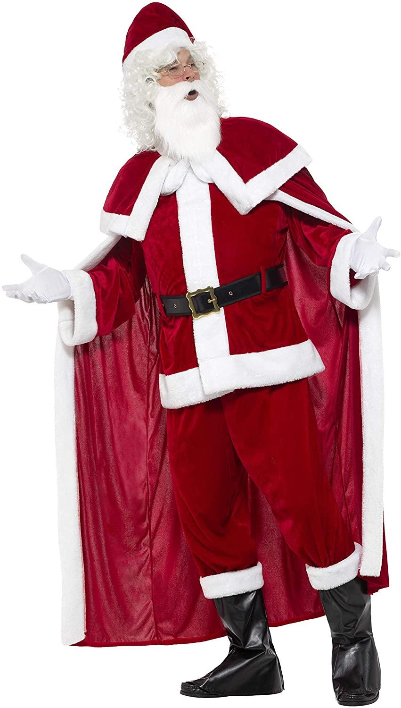 Costume Père Noel avec cape