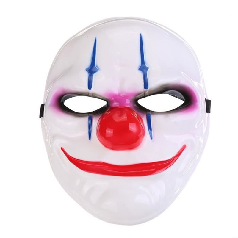 MASQUE PVC CLOWN TERRIFIANT