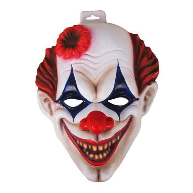 Masque de clown sourire en mousse