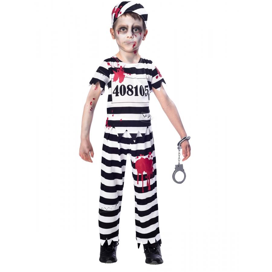 Déguisement de prisonnier zombie enfant