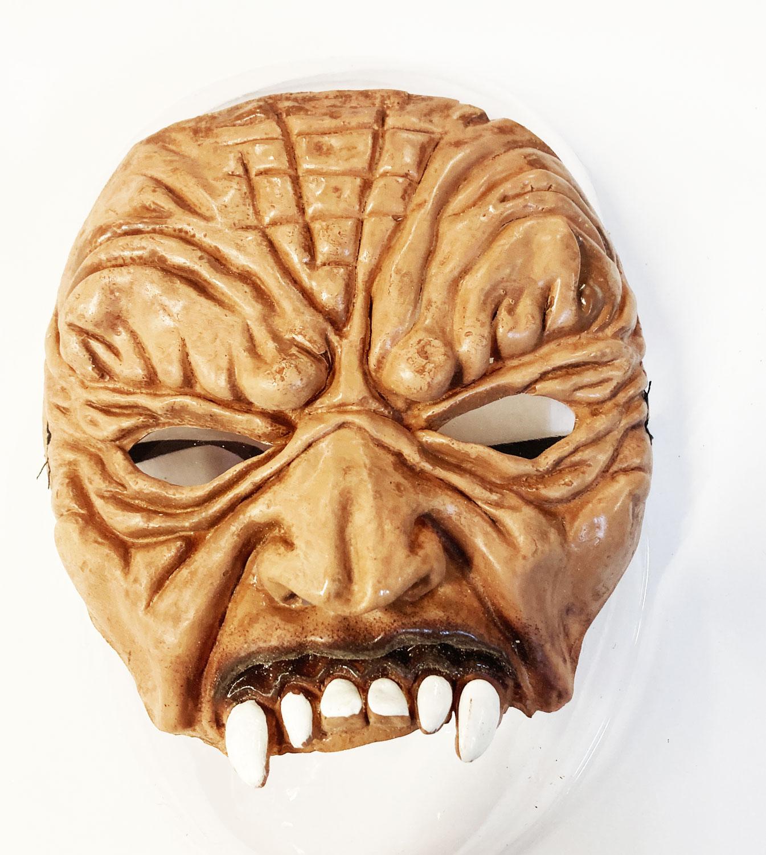 demi masque latex halloween