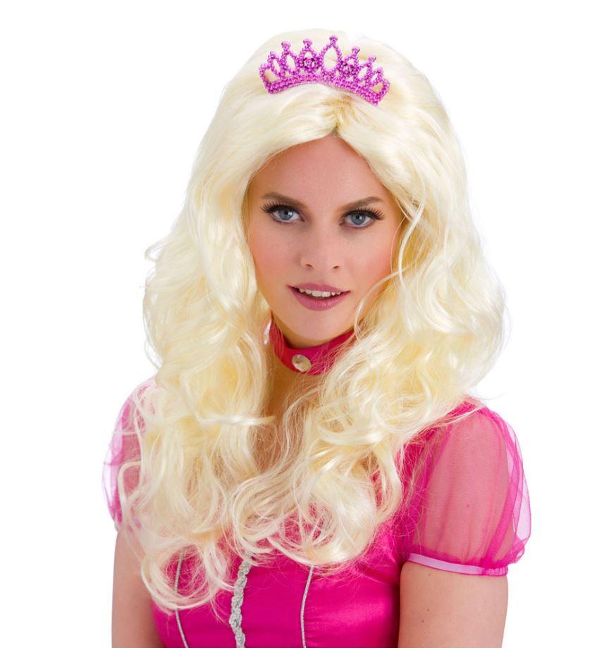 Perruque Barbie miss monde