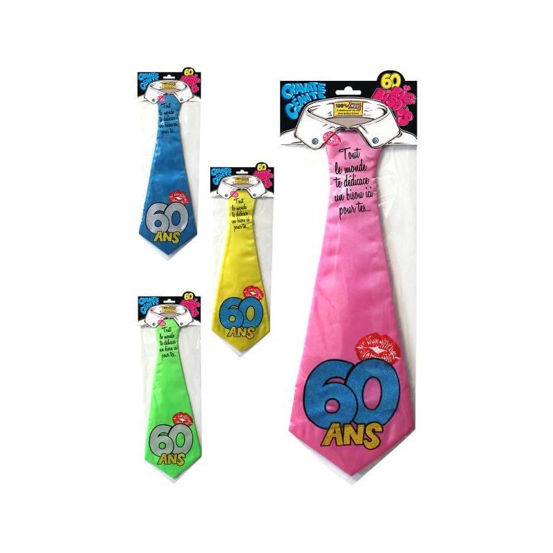 Cravate géante 60 ans