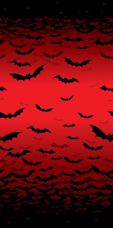 Décoration Halloween chauve souris