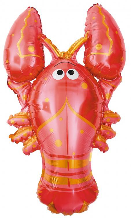 Ballon aluminium homard
