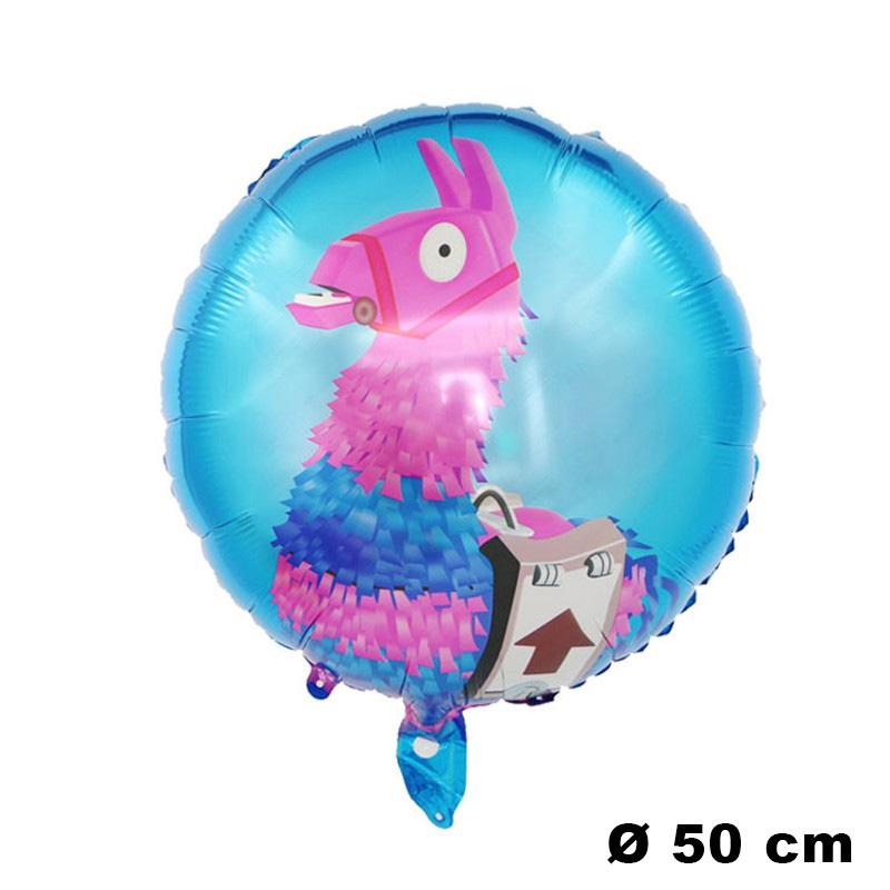 Ballon aluminium Lama Fortnite