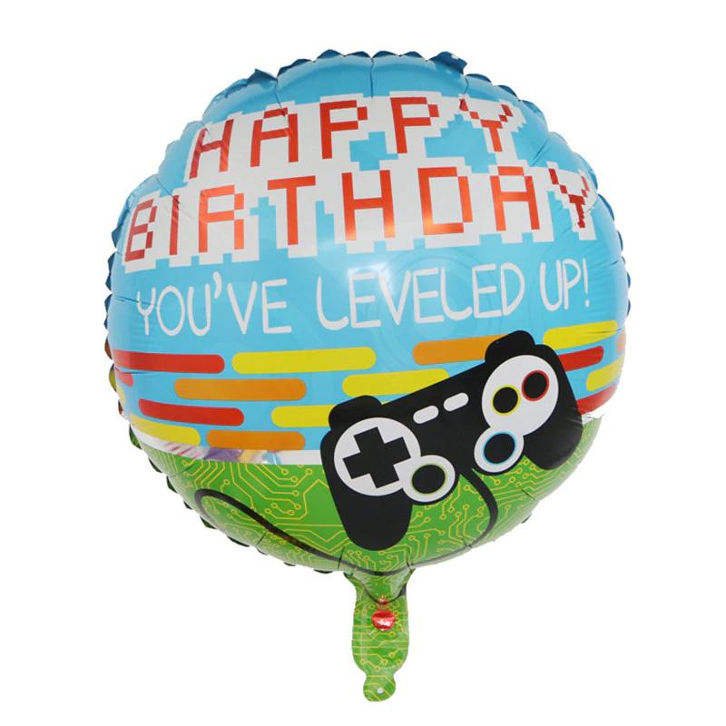 Ballon aluminium jeux vidéo