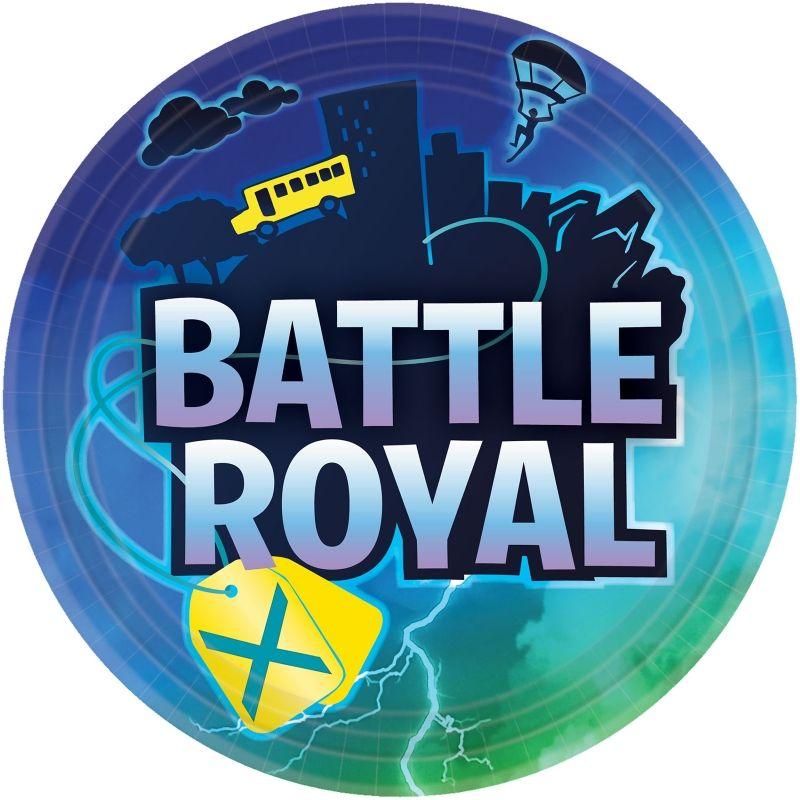 8 assiettes Fortnite Battle royale